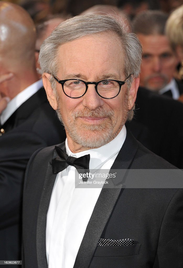 Director Steven Spilerberg attends the 85th Annual Academy Awards held at the Hollywood & Highland Center on February 24, 2013 in Hollywood, California.