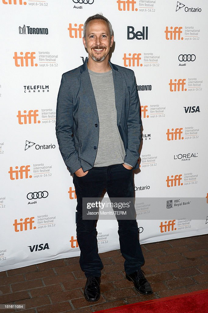 Director Stuart Blumberg attends the 'Thanks For Sharing' premiere during the 2012 Toronto International Film Festival at Ryerson Theatre on September 8, 2012 in Toronto, Canada.