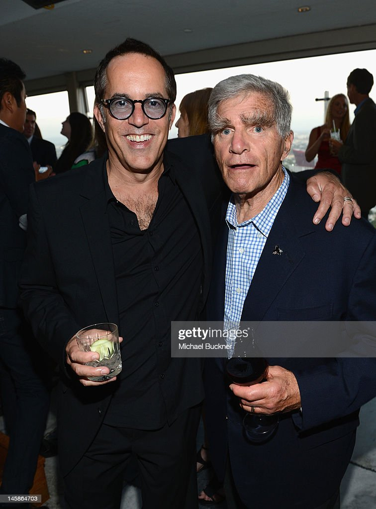 Director, Sundance Film Festival John Cooper and George Gund attend the Sundance Institute Benefit presented by Tiffany & Co. in Los Angeles held at Soho House on June 6, 2012 in West Hollywood, California.