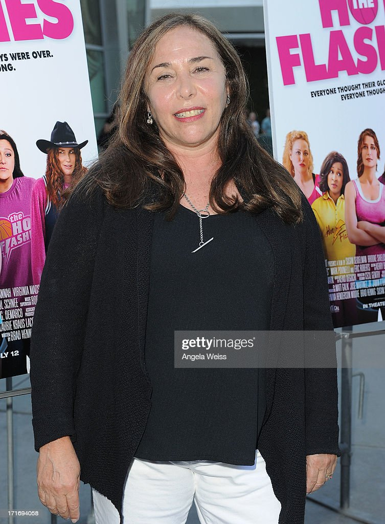 Director Susan Seidelman arrives at the premiere of 'The Hot Flashes' at ArcLight Cinemas on June 27, 2013 in Hollywood, California.