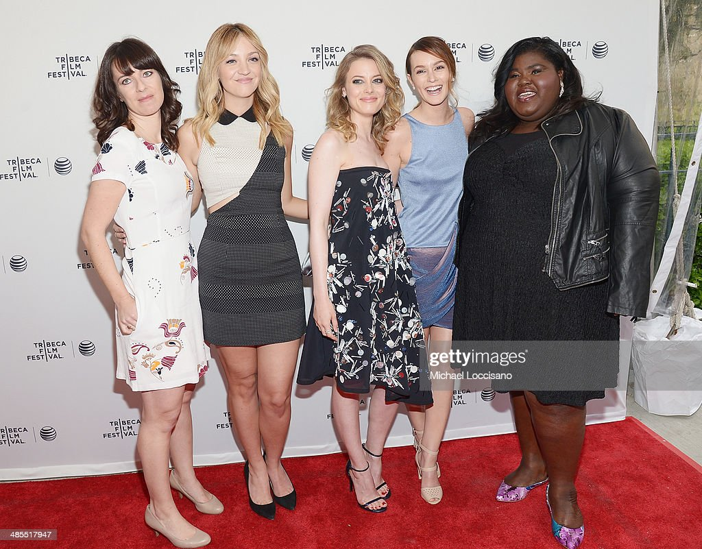 Director Susanna Fogel and actresses Abby Elliot, <a gi-track='captionPersonalityLinkClicked' href=/galleries/search?phrase=Gillian+Jacobs&family=editorial&specificpeople=4836757 ng-click='$event.stopPropagation()'>Gillian Jacobs</a>, <a gi-track='captionPersonalityLinkClicked' href=/galleries/search?phrase=Leighton+Meester&family=editorial&specificpeople=3947554 ng-click='$event.stopPropagation()'>Leighton Meester</a> and Gabby Sidibe attend the 'Life Partners' premiere during the 2014 Tribeca Film Festival at SVA Theater on April 18, 2014 in New York City.