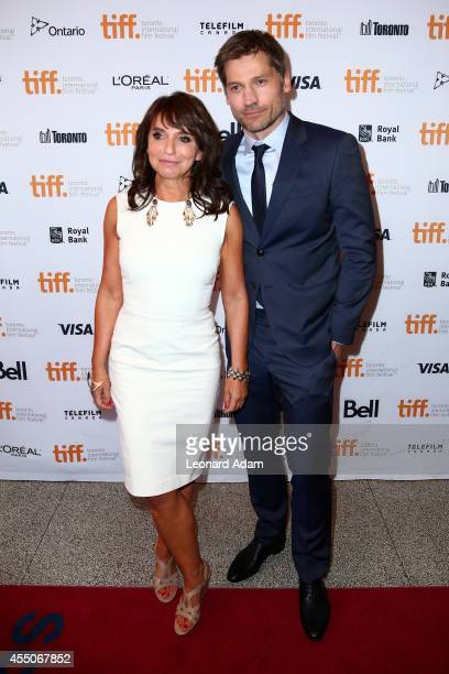 Director Susanne Bier and Actor Nikolaj CosterWaldau attend the 'A Second Chance' premiere during the 2014 Toronto International Film Festival at...