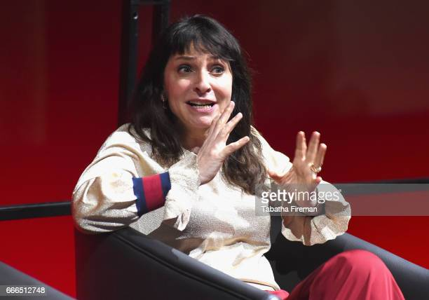Director Susanne Bier attends a panel discussion about 'The Night Manager' during the BFI Radio Times TV Festival at BFI Southbank on April 9 2017 in...