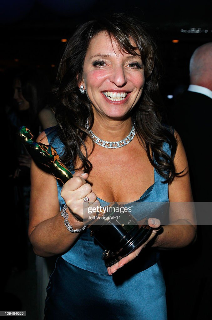 Director <a gi-track='captionPersonalityLinkClicked' href=/galleries/search?phrase=Susanne+Bier&family=editorial&specificpeople=240199 ng-click='$event.stopPropagation()'>Susanne Bier</a> attends the 2011 Vanity Fair Oscar Party Hosted by Graydon Carter at the Sunset Tower Hotel on February 27, 2011 in West Hollywood, California.