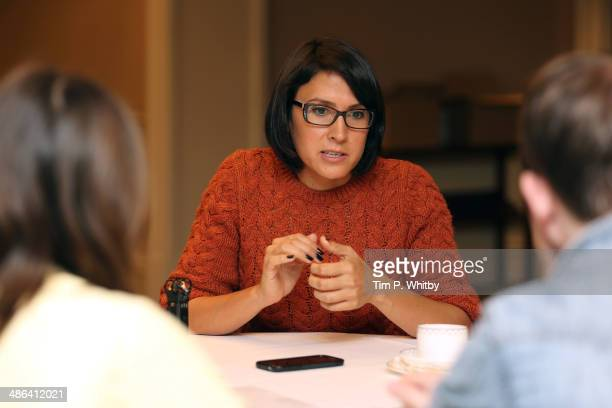 Director Sydney Freeland attends the Film Maker Press Breakfast during the Sundance London Film and Music Festival 2014 at The Langham Hotel on April...