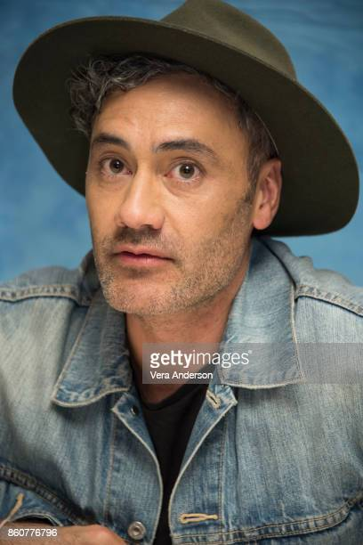 Director Taika Waititi at the 'Thor Ragnarok' Press Conference at the Montage Hotel on October 11 2017 in Beverly Hills California