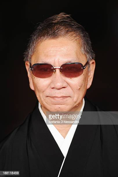 Director Takashi Miike attends 'The Mole Song' Premiere during The 8th Rome Film Festival on November 15 2013 in Rome Italy
