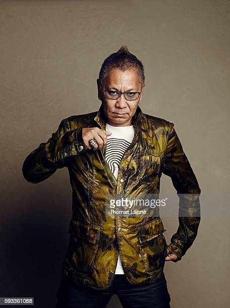 Director Takashi Miike is photographed for Self Assignment on May 17 2013 in Cannes France
