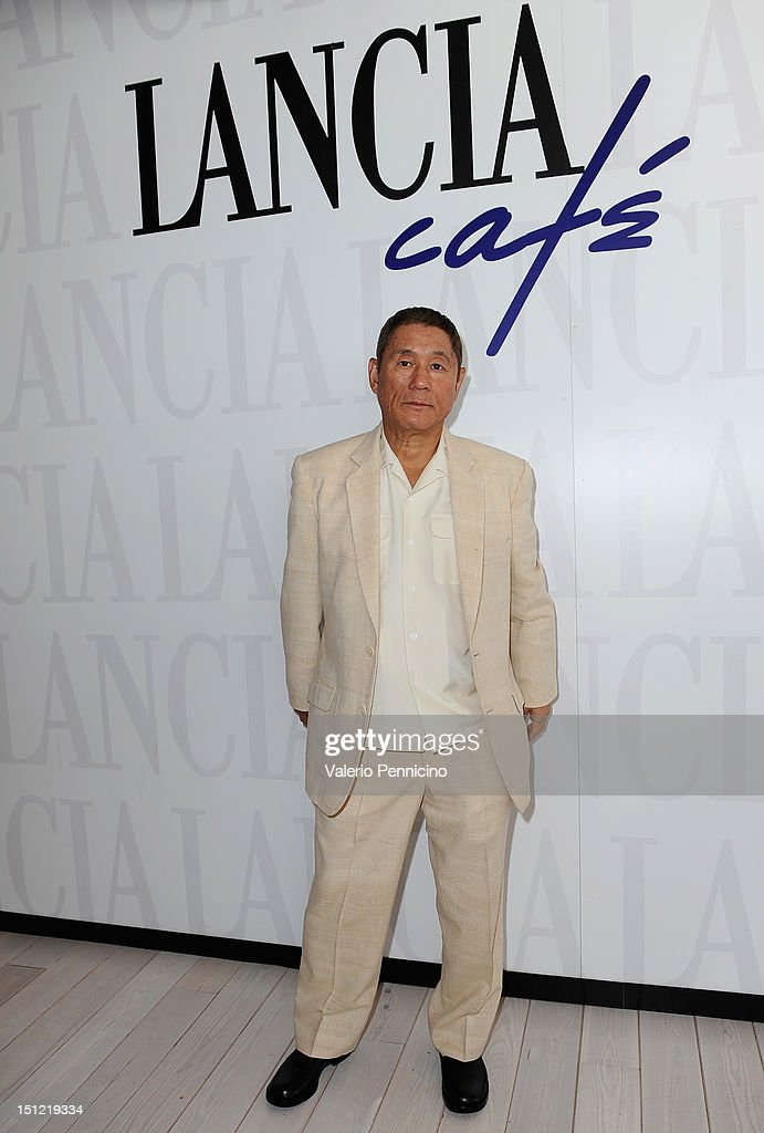 Celebrities At The Lancia Cafe: Day 7 - The 69th Venice Film Festival