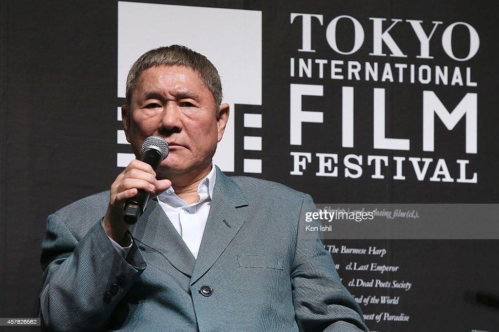 """SAMURAI Award Special Talk Session"" Featuring Takeshi Kitano - The 27th Tokyo International Film Festival"