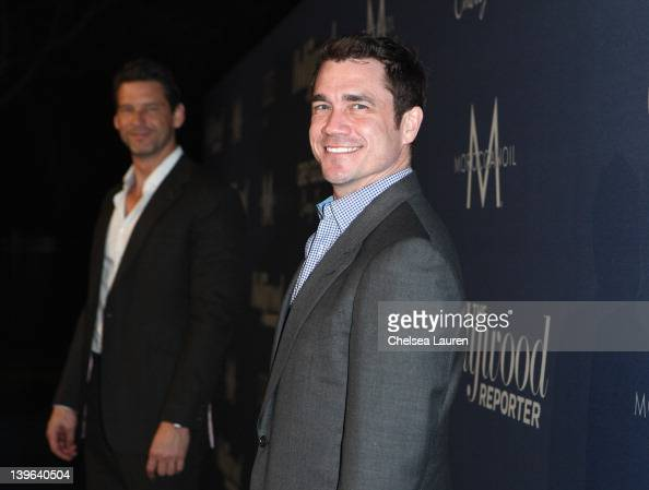 Director Tate Taylor and producer John Norris arrive at The Hollywood Reporter's 'Nominees' Night 2012' A Celebration of the 84th Annual Academy...