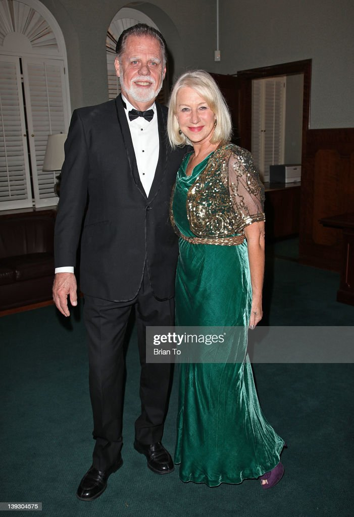 Director Taylor Hackford and actress Dame Helen Mirren attend 24th Annual USC Libraries Scripter award ceremony at USC on February 18 2012 in Los...
