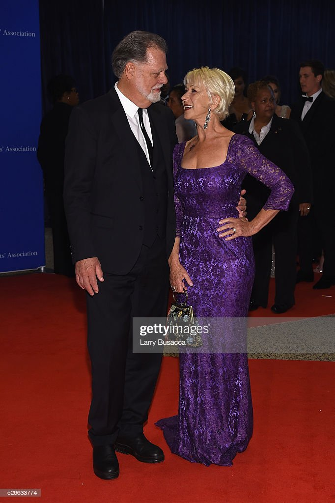 Director <a gi-track='captionPersonalityLinkClicked' href=/galleries/search?phrase=Taylor+Hackford&family=editorial&specificpeople=202623 ng-click='$event.stopPropagation()'>Taylor Hackford</a> (L) and actress Dame <a gi-track='captionPersonalityLinkClicked' href=/galleries/search?phrase=Helen+Mirren&family=editorial&specificpeople=201576 ng-click='$event.stopPropagation()'>Helen Mirren</a> attend the 102nd White House Correspondents' Association Dinner on April 30, 2016 in Washington, DC.