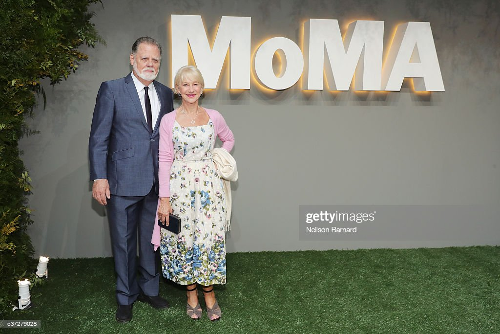 Director Taylor Hackford and actress Helen Mirren attend the 2016 Museum of Modern Art Party in the Garden at Museum of Modern Art on June 1 2016 in...