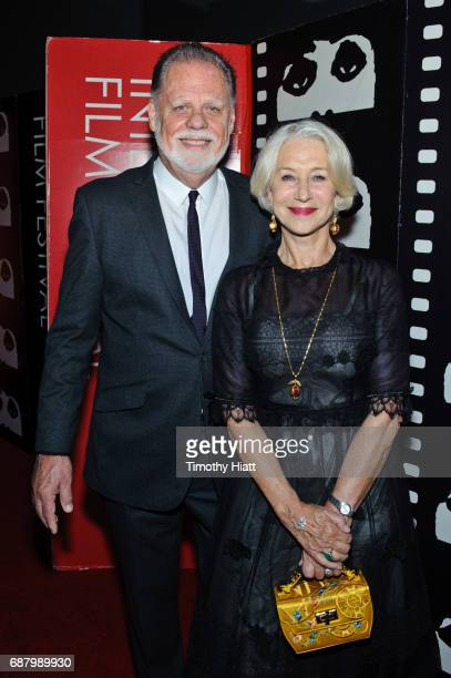 Director Taylor Hackford and actress Helen Mirren attend the 2017 Cinema Chicago Spring Gala at Loews Hotel Chicago on May 24 2017 in Chicago Illinois