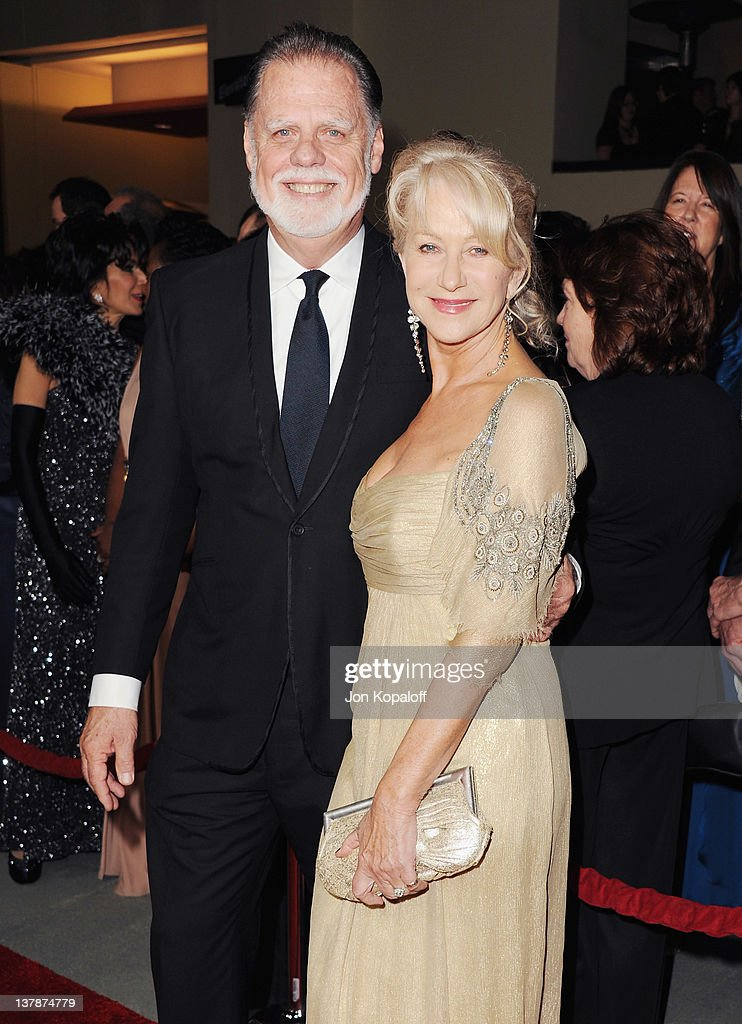Director Taylor Hackford and wife actress Helen Mirren arrive at the 64th Annual DGA Awards at the Grand Ballroom at Hollywood Highland Center on...