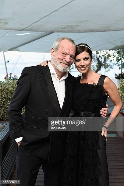 Director Terry Gilliam and Maribel Verdu attend the JaegerLeCoultre gala event celebrating 10 years of partnership with La Mostra Internazionale...