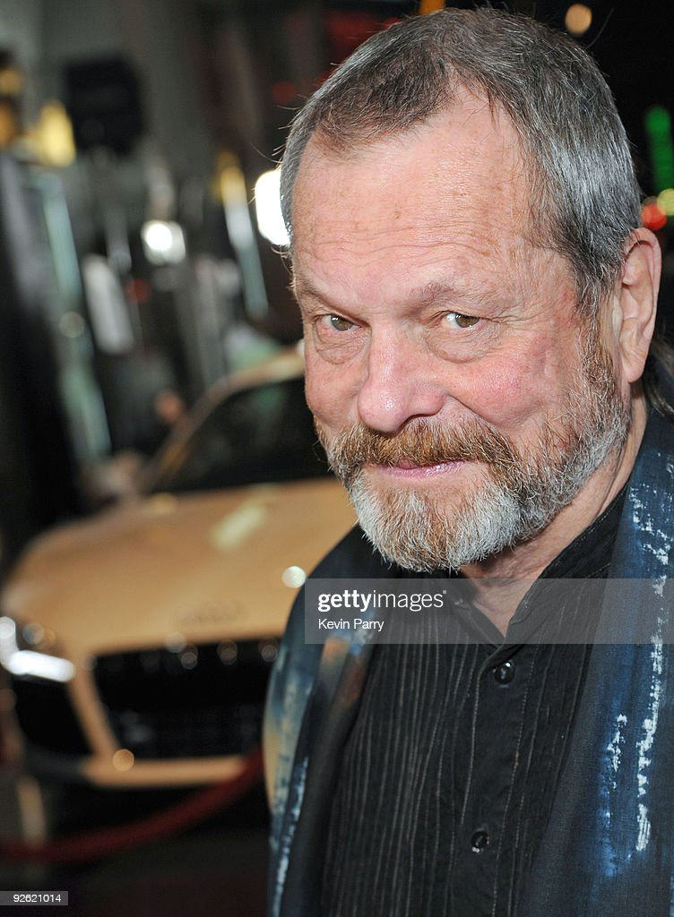 Director Terry Gilliam arrives at 'The Imaginarium Of Doctor Parnassus' AFI Fest 2009 premiere in an Audi TDI at Grauman's Chinese Theatre on...