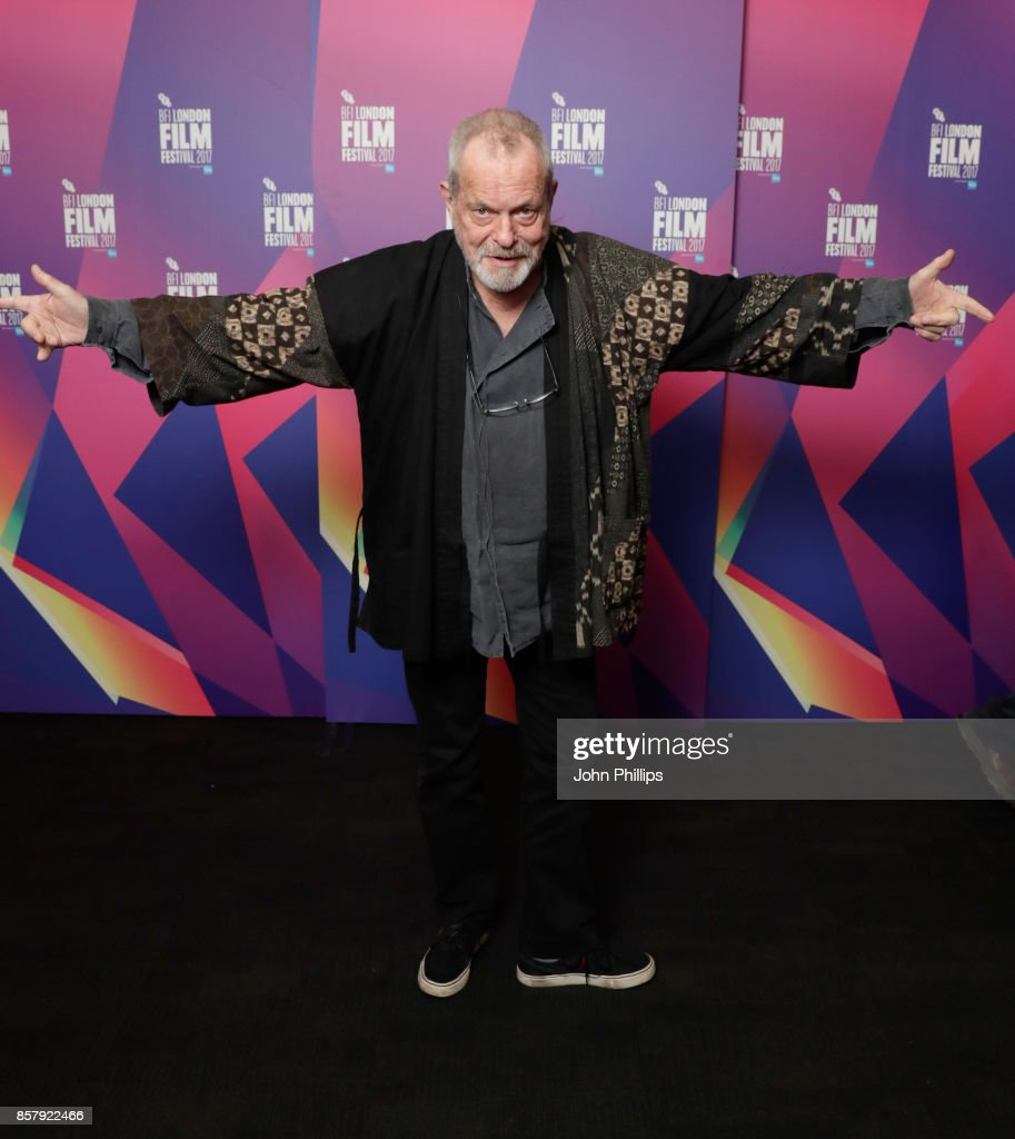 Director Terry Gilliam attends a screening of 'Jabberwocky' during the 61st BFI London Film Festival on October 5, 2017 in London, England.