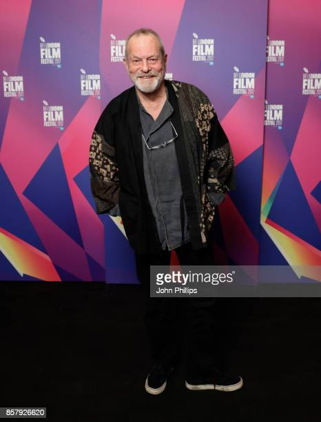 Director Terry Gilliam attends a screening of 'Jabberwocky' during the 61st BFI London Film Festival on October 5 2017 in London England