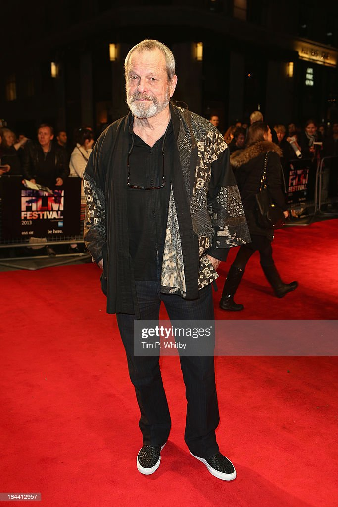Director Terry Gilliam attends a screening of 'Zero Theorem' during the 57th BFI London Film Festival at Odeon West End on October 13 2013 in London...