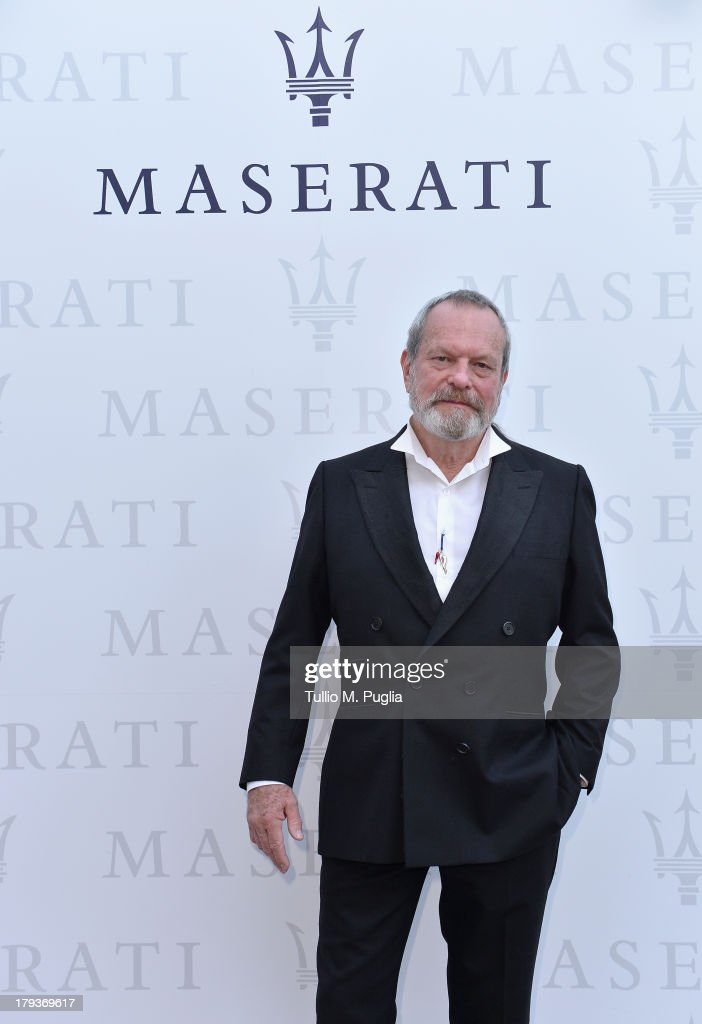 Director <a gi-track='captionPersonalityLinkClicked' href=/galleries/search?phrase=Terry+Gilliam&family=editorial&specificpeople=221636 ng-click='$event.stopPropagation()'>Terry Gilliam</a> attends the 70th Venice International Film Festival at Terrazza Maserati on September 2, 2013 in Venice, Italy.