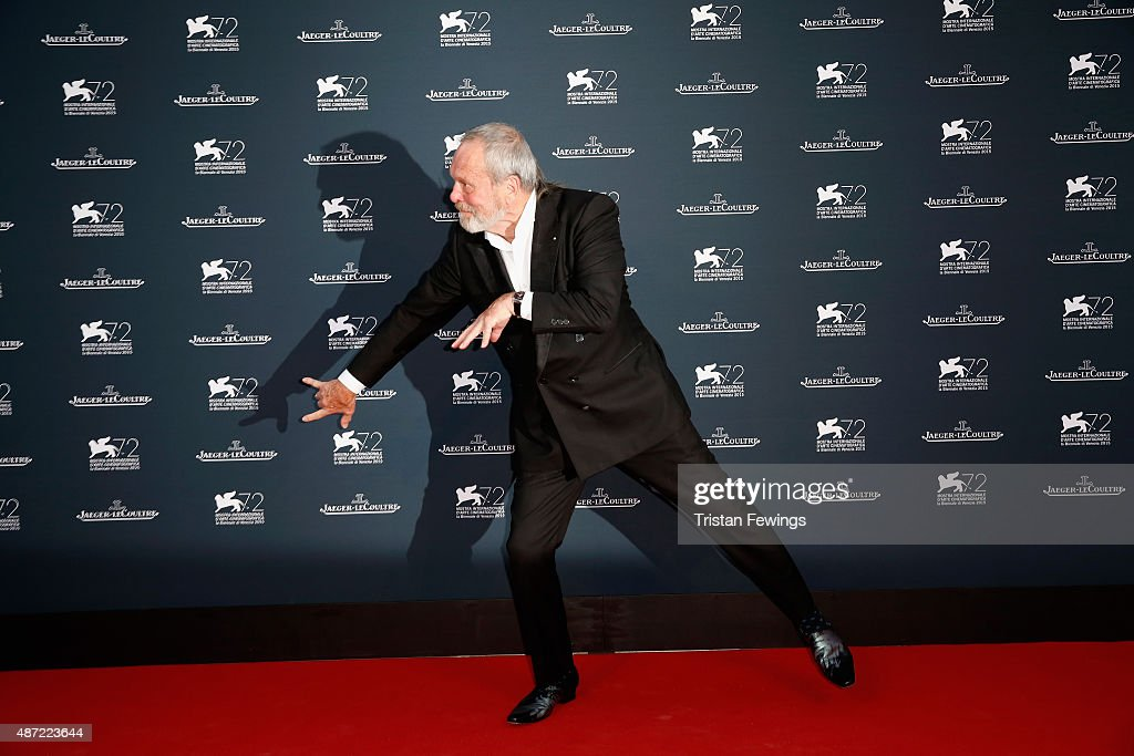 Director Terry Gilliam attends the Jaeger-LeCoultre gala event celebrating 10 years of partnership with La Mostra Internazionale d'Arte Cinematografica di Venezia at the Excelsior Hotel on September 7, 2015 in Venice, Italy.