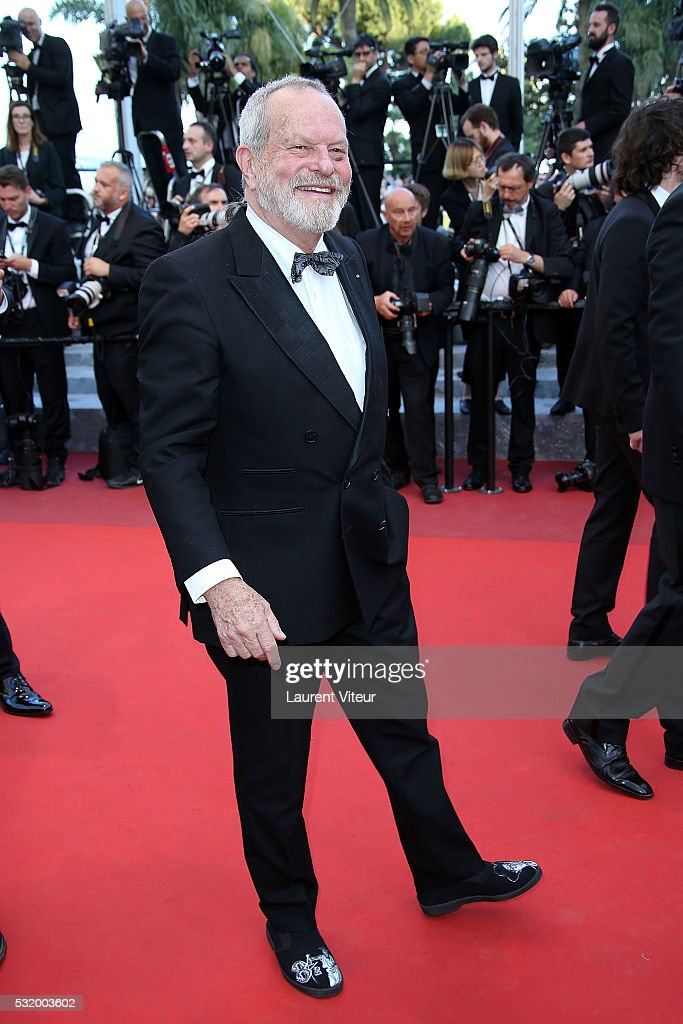 Director Terry Gilliam attends the 'Julieta' premiere during the 69th annual Cannes Film Festival at the Palais des Festivals on May 17, 2016 in Cannes, .