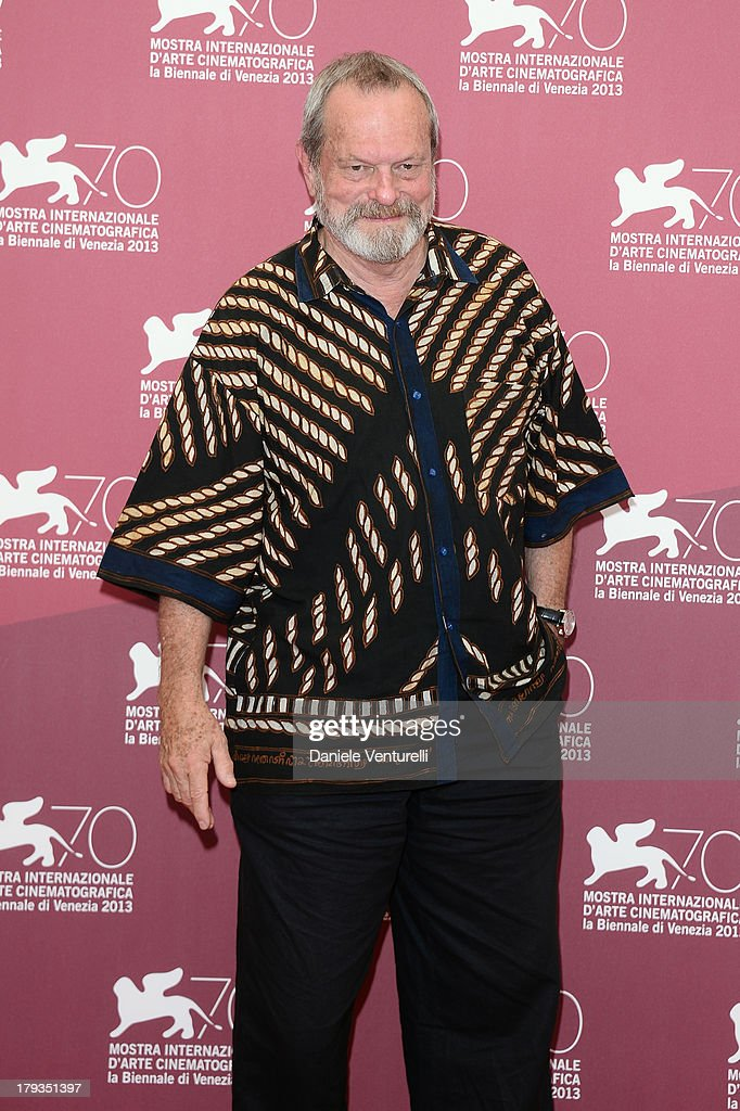 Director <a gi-track='captionPersonalityLinkClicked' href=/galleries/search?phrase=Terry+Gilliam&family=editorial&specificpeople=221636 ng-click='$event.stopPropagation()'>Terry Gilliam</a> attends 'The Zero Theorem' Photocall during the 70th Venice International Film Festival at Palazzo del Casino on September 2, 2013 in Venice, Italy.
