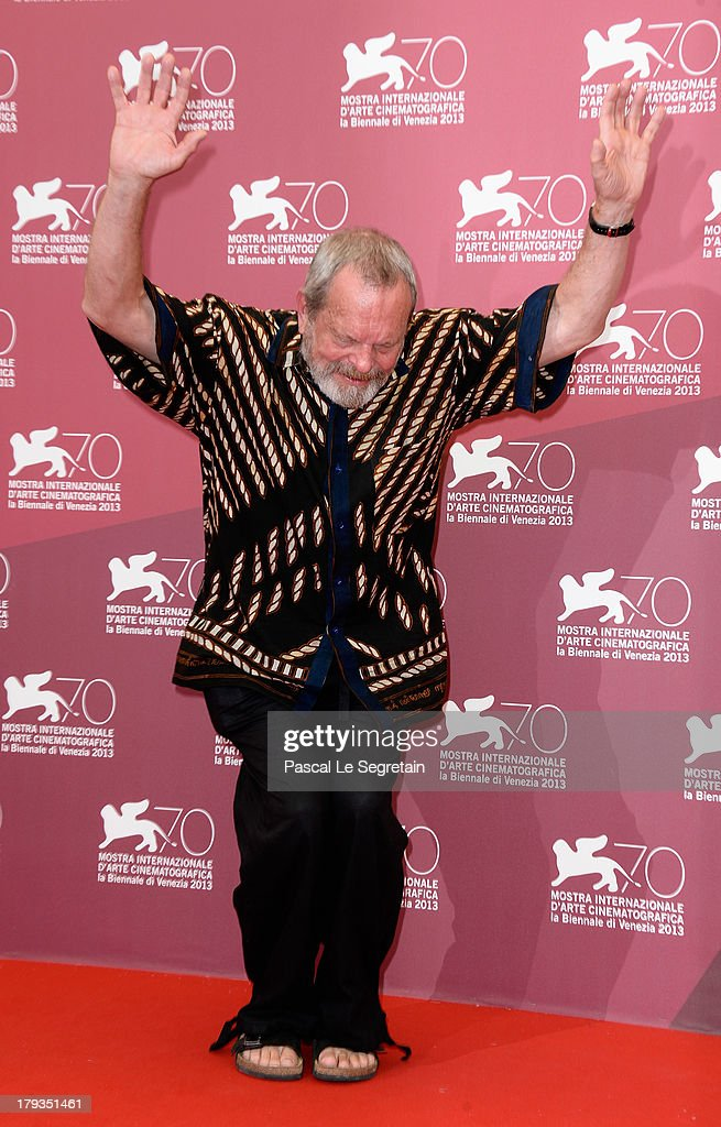 Director Terry Gilliam attends 'The Zero Theorem' Photocall during the 70th Venice International Film Festival at the Palazzo del Casino on September 2, 2013 in Venice, Italy.