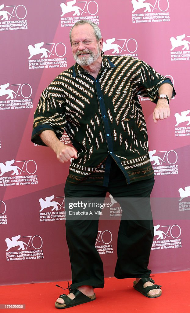 Director <a gi-track='captionPersonalityLinkClicked' href=/galleries/search?phrase=Terry+Gilliam&family=editorial&specificpeople=221636 ng-click='$event.stopPropagation()'>Terry Gilliam</a> attends 'The Zero Theorem' Photocall during the 70th Venice International Film Festival at the Palazzo del Casino on September 2, 2013 in Venice, Italy.