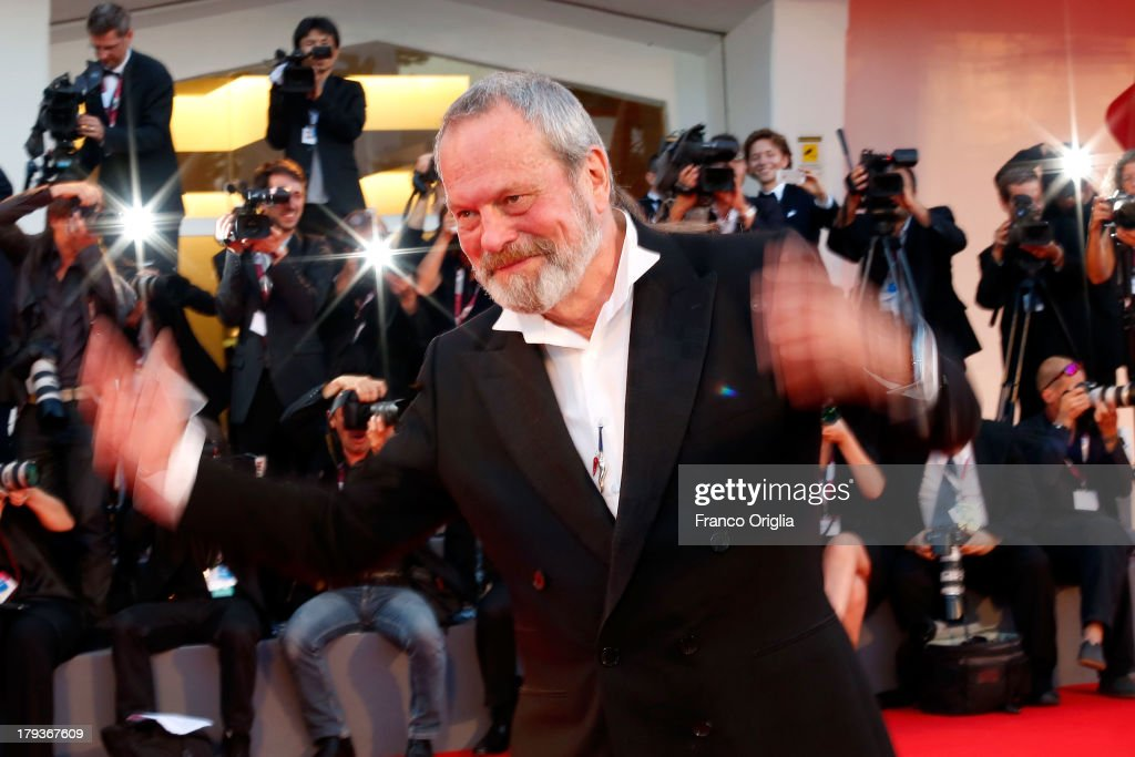 Director <a gi-track='captionPersonalityLinkClicked' href=/galleries/search?phrase=Terry+Gilliam&family=editorial&specificpeople=221636 ng-click='$event.stopPropagation()'>Terry Gilliam</a> attends 'The Zero Theorem' Premiere during the 70th Venice International Film Festival at the Palazzo del Cinema on September 2, 2013 in Venice, Italy.