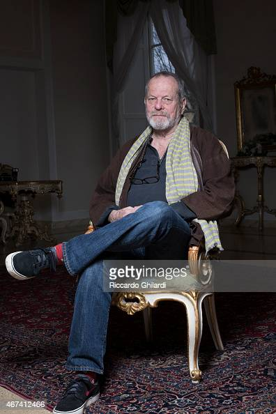 Director Terry Gilliam is photographed for Self Assignment on March 16 2015 in Lucca Italy
