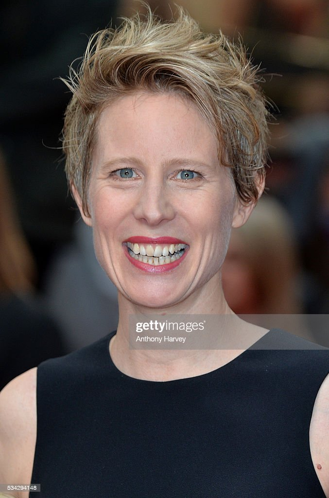 Director Thea Sharrock attends the European film premiere 'Me Before You' at The Curzon Mayfair on May 25, 2016 in London, England.