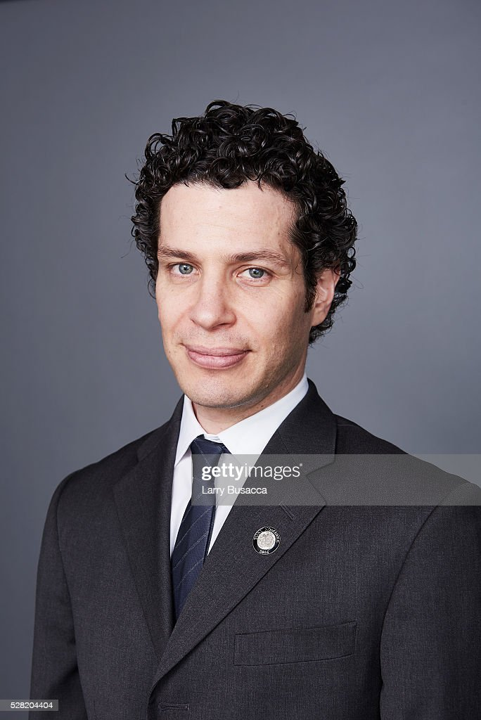 Director <a gi-track='captionPersonalityLinkClicked' href=/galleries/search?phrase=Thomas+Kail&family=editorial&specificpeople=4943828 ng-click='$event.stopPropagation()'>Thomas Kail</a> poses for a portrait at the 2016 Tony Awards Meet The Nominees Press Reception on May 4, 2016 in New York City.