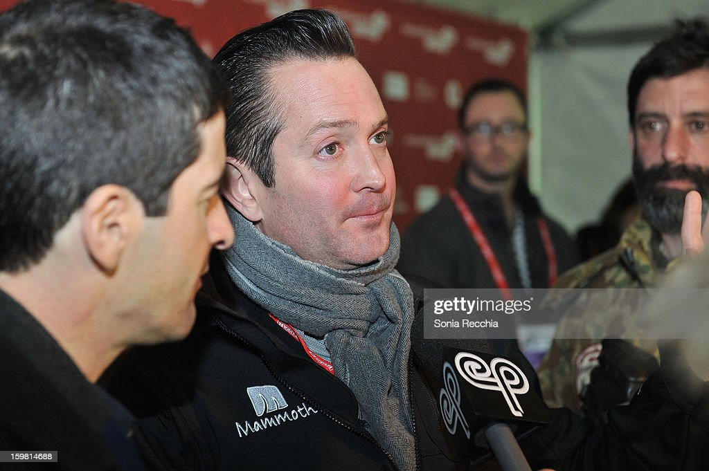 Director Thomas Lennon attends the 'Hell Baby' premiere at Library Center Theater during the 2013 Sundance Film Festival on January 20, 2013 in Park City, Utah.