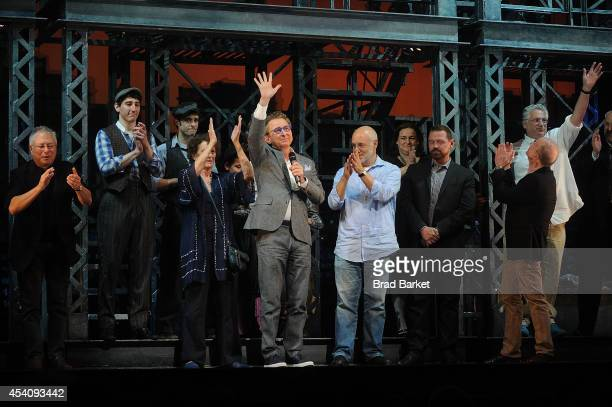 Director Thomas Schumacher attends the 'Newsies' Final Broadway Curtain Call at the Nederlander Theatre on August 24 2014 in New York City