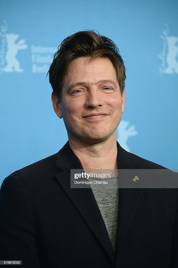 Director Thomas Vinterberg attends the 'The Commune' photo call during the 66th Berlinale International Film Festival Berlin at Grand Hyatt Hotel on...