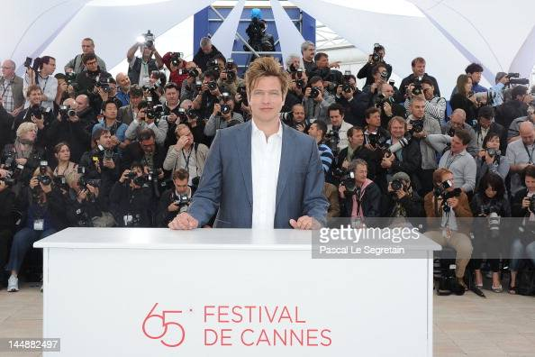 Director Thomas Vinterberg poses at the 'Jagten' Photocall during the 65th Annual Cannes Film Festival at Palais des Festivals on May 20 2012 in...