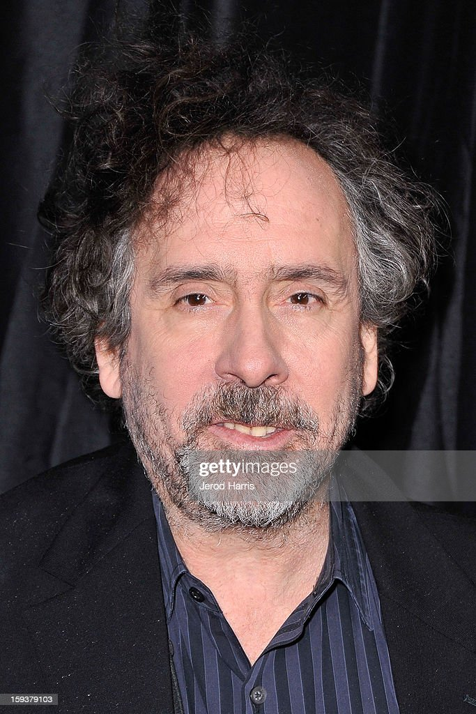 Director Tim Burton arrives at the 38th Annual Los Angeles Film Critics Association Awards at InterContinental Hotel on January 12 2013 in Century...