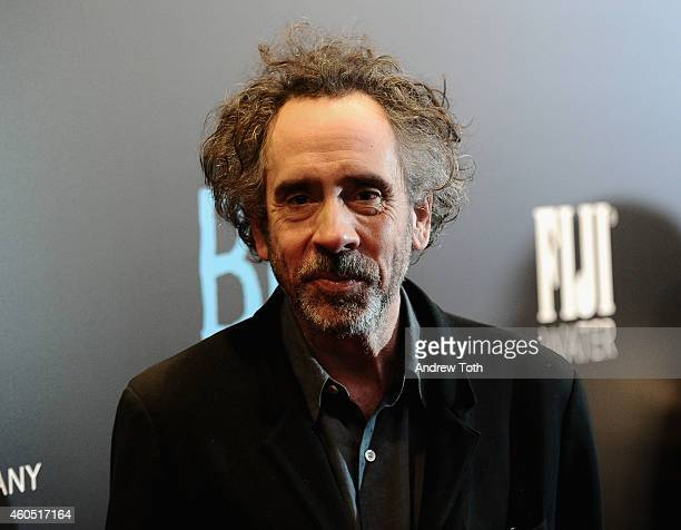 Director Tim Burton attends 'Big Eyes' New York premiere at Museum of Modern Art on December 15 2014 in New York City