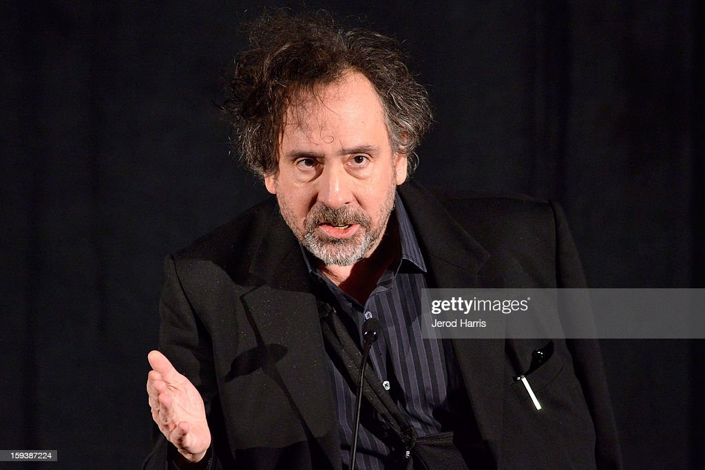 Director Tim Burton attends the 38th Annual Los Angeles Film Critics Association Awards - Show at InterContinental Hotel on January 12, 2013 in Century City, California.