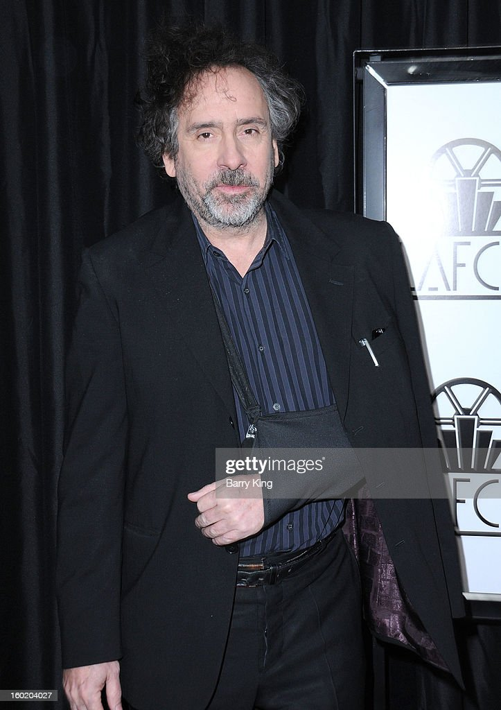 Director Tim Burton attends the 38th annual Los Angeles Film Critics Association Awards at InterContinental Hotel on January 12, 2013 in Century City, California.