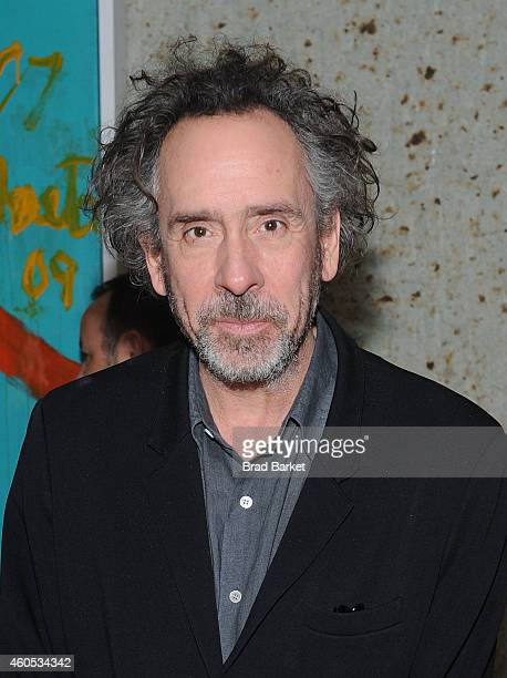 Director Tim Burton attends the 'Big Eyes' New York Premiere After Party at Kappo Masa on December 15 2014 in New York City