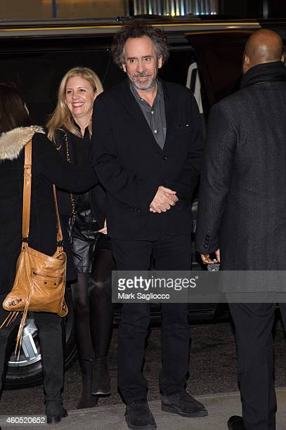 Director Tim Burton attends the 'Big Eyes' New York Premiere at the Museum of Modern Art on December 15 2014 in New York City