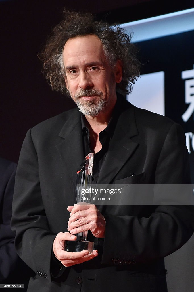 Director <a gi-track='captionPersonalityLinkClicked' href=/galleries/search?phrase=Tim+Burton&family=editorial&specificpeople=206342 ng-click='$event.stopPropagation()'>Tim Burton</a> attends the closing ceremony of the 27th Tokyo International Film Festival at Roppongi Hills on October 31, 2014 in Tokyo, Japan.