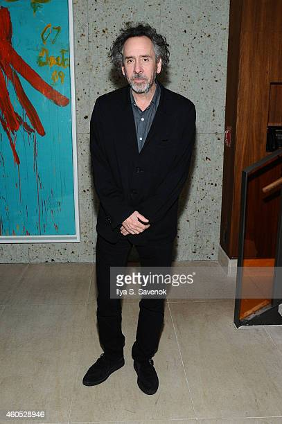 Director Tim Burton attends The New York Premiere After Party Of BIG EYES at Kappo Masa on December 15 2014 in New York City