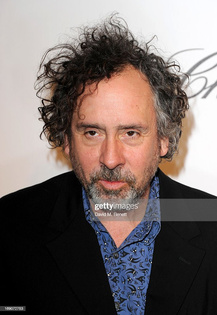 Director <a gi-track='captionPersonalityLinkClicked' href=/galleries/search?phrase=Tim+Burton&family=editorial&specificpeople=206342 ng-click='$event.stopPropagation()'>Tim Burton</a> attends The Weinstein Company Party in Cannes hosted by Lexus and Chopard at Baoli Beach on May 19, 2013 in Cannes, France.