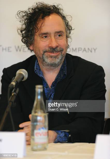 Director Tim Burton speaks during the Lexus Short Films Series 'Life Is Amazing' Directors Roundtable Presented By The Weinstein Company And Lexus...