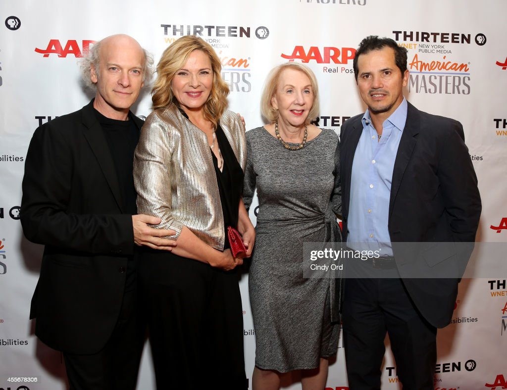 Director Timothy GreenfieldSanders Kim Cattrall Myrna Blyth and John Leguizamo attend American Masters The Boomer List NYC Premiere on September 18...